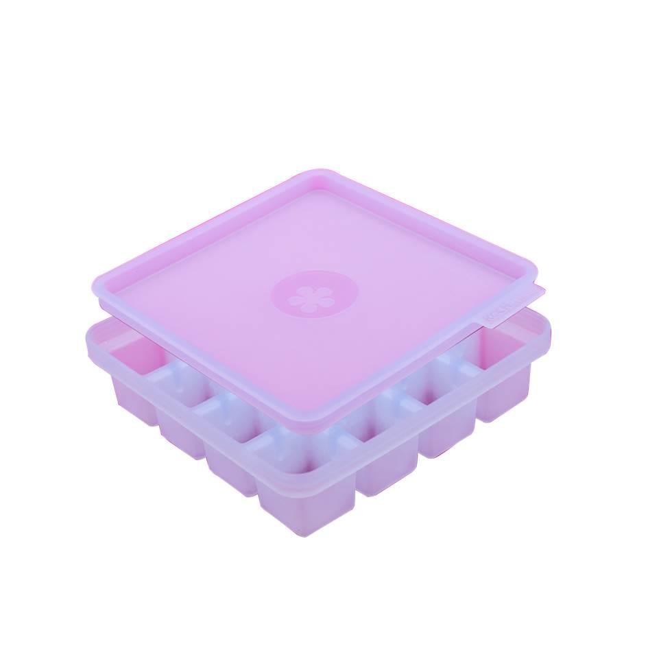 Kochblumen Eiswürfelbehälter 16er Würfel eisblau