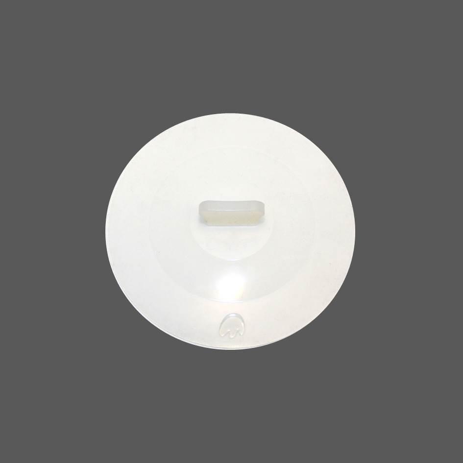 Silikon Deckel 18 cm weiß