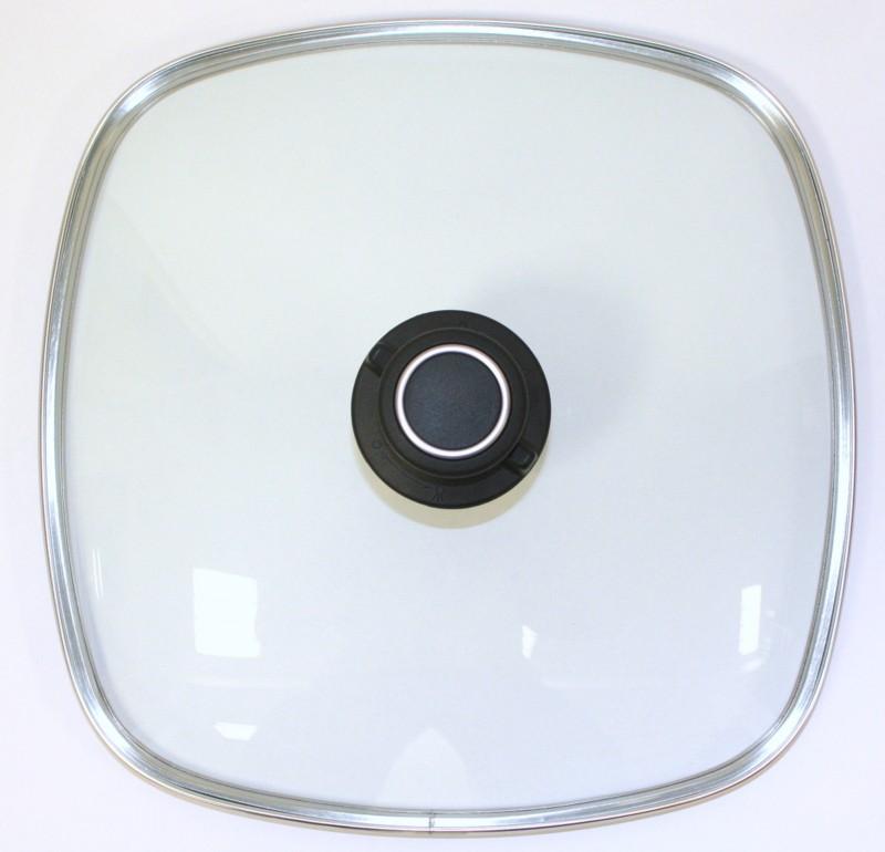 Glasdeckel eckig Größe 28 cm x 28 cm