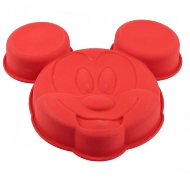 Silikonbackform Mickey Mouse