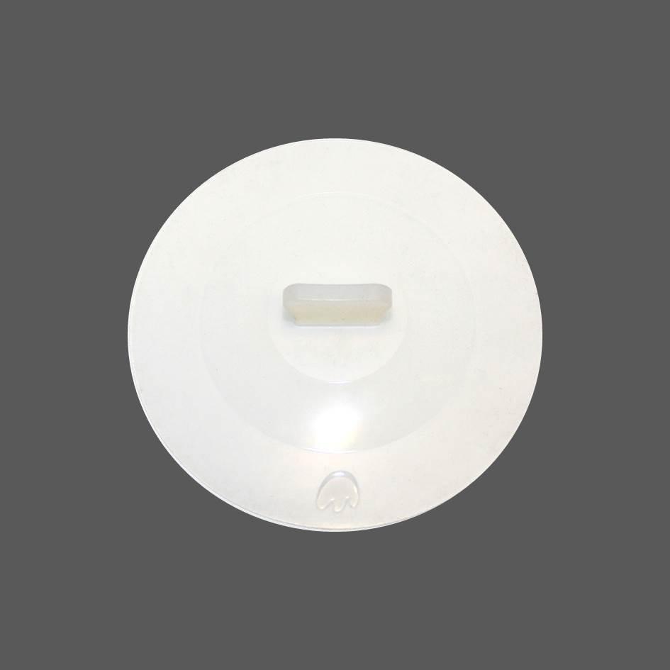 Silikon Deckel 25 cm weiß