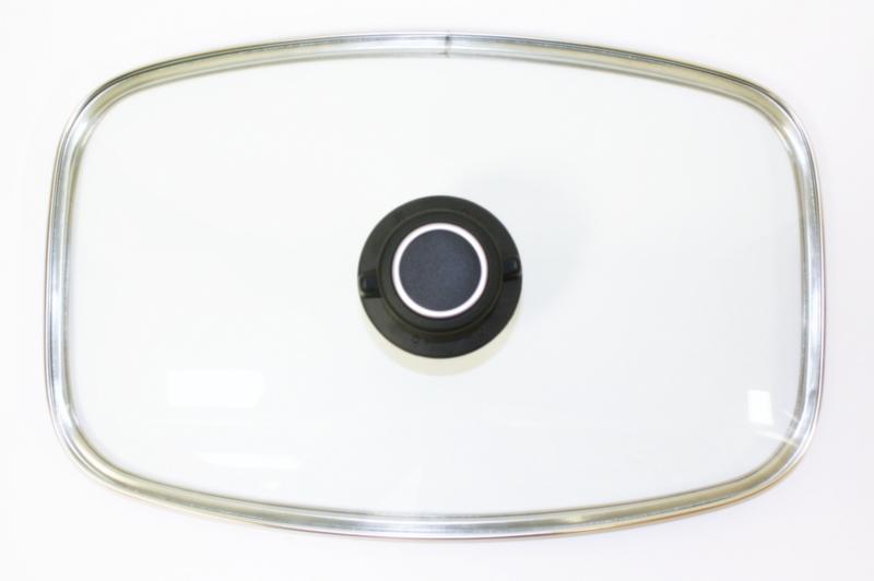 original gundel glasdeckel f r pfanne oder br ter klein 32 1 x 19 9 cm pfannen joschi w rzburg. Black Bedroom Furniture Sets. Home Design Ideas