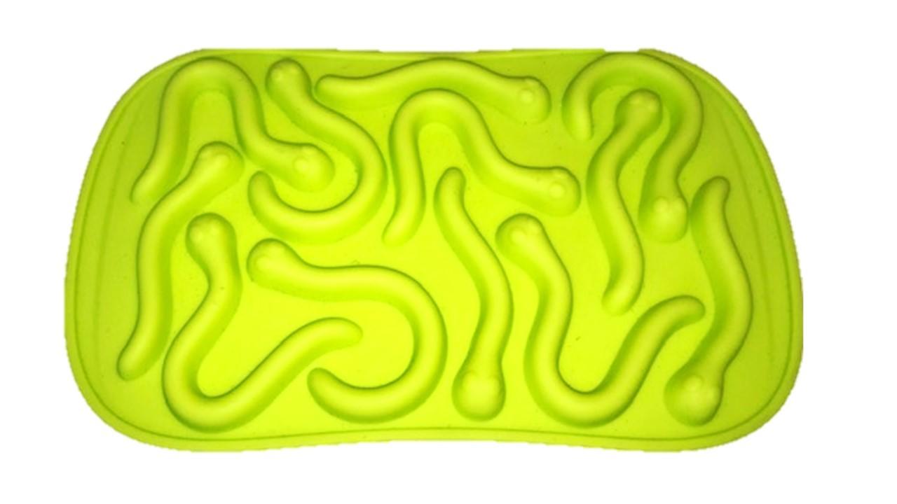 Silikon Gummibonbons Würmer