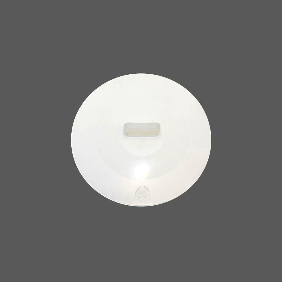 Silikon Deckel 15 cm weiß