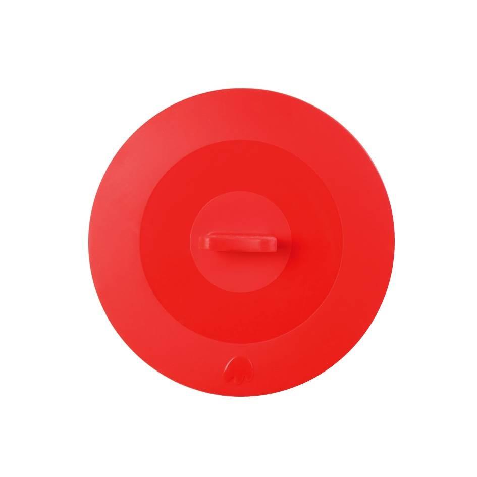 Silikon Deckel 29 cm rot
