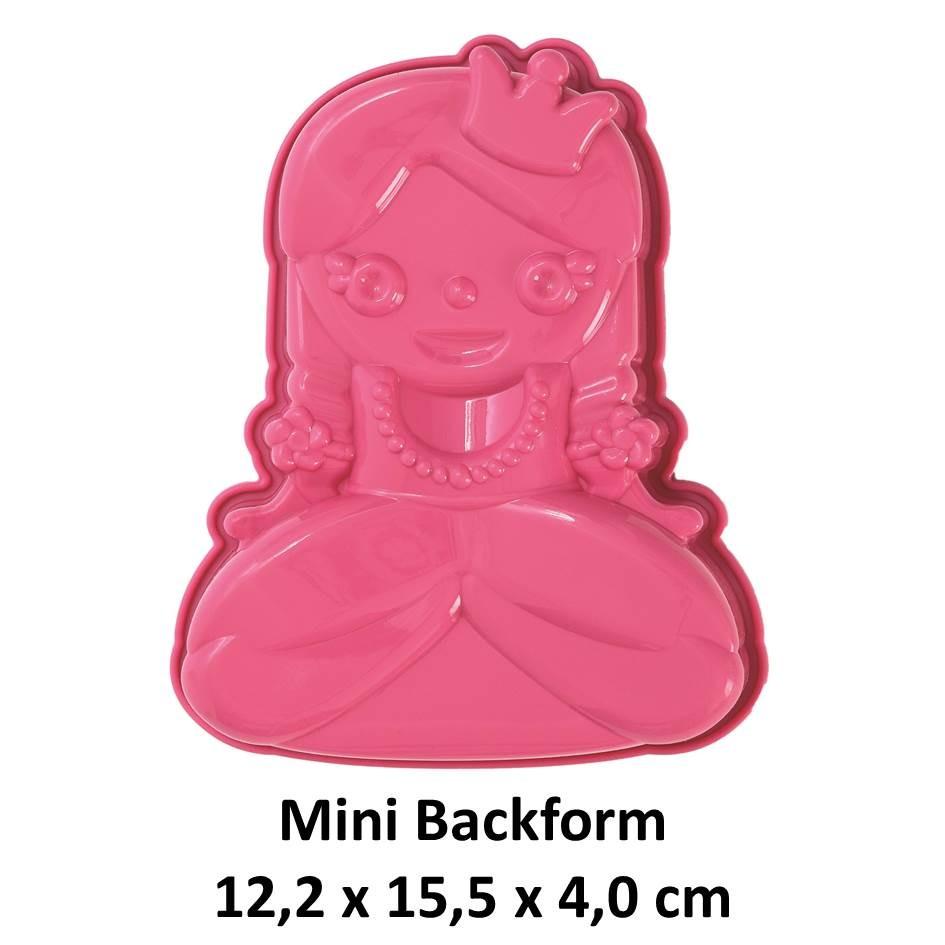 Silikonbackform Mini Prinzessin