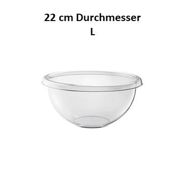 Guzzini Schüssel Season L 22cm transparent