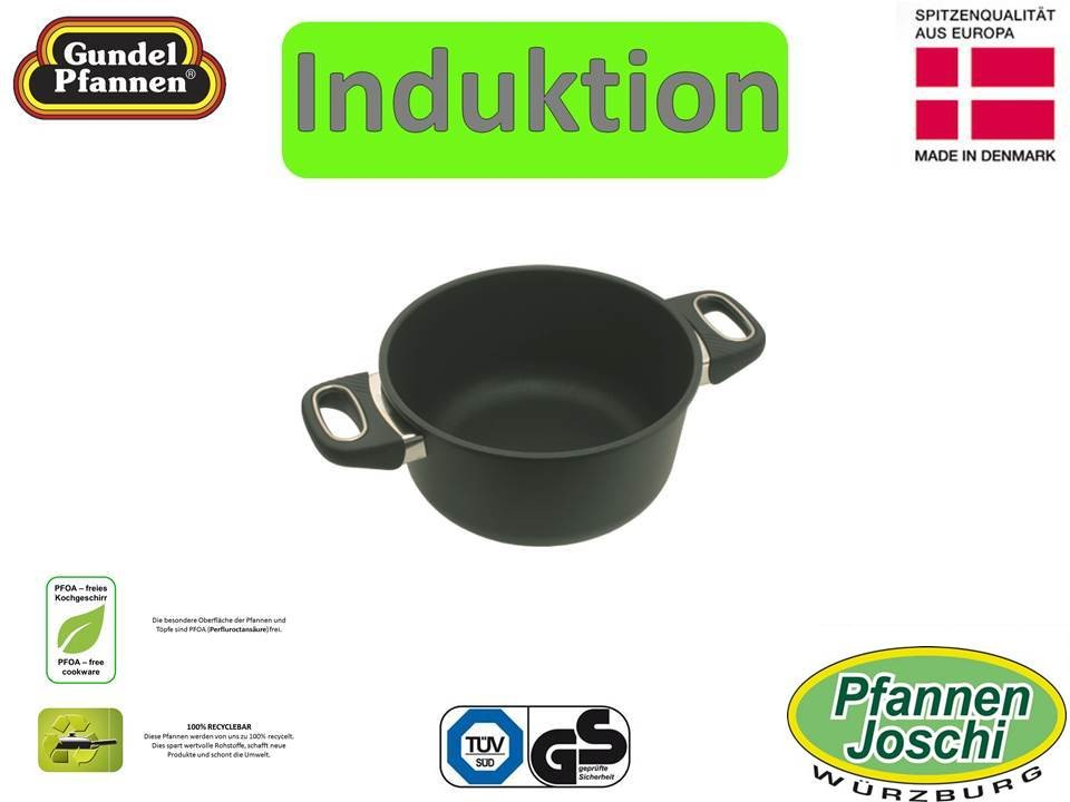 Original Gundel 20 cm Bratentopf Induktion
