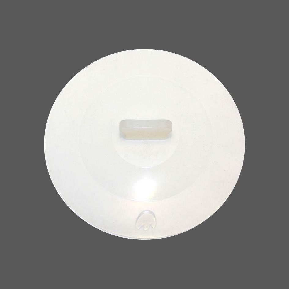 Silikon Deckel 29 cm weiß