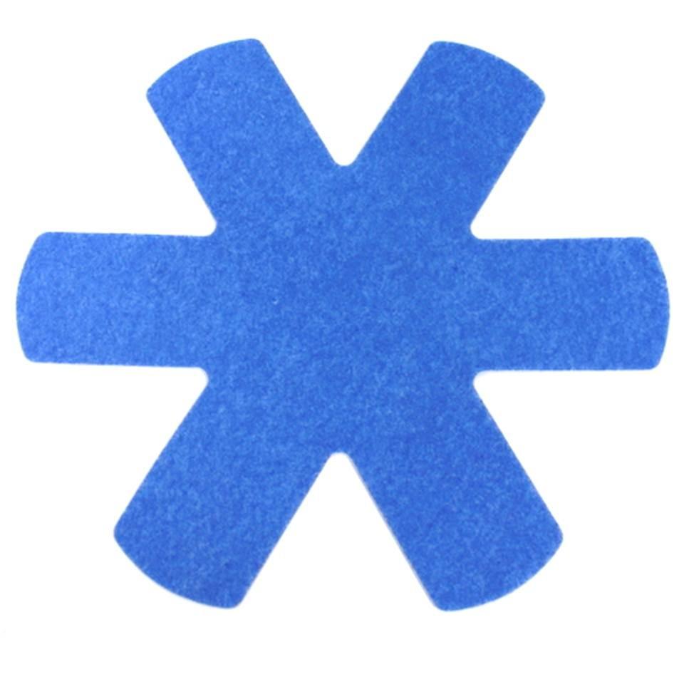 Pfannenschutzeinlagen 3er Set blau