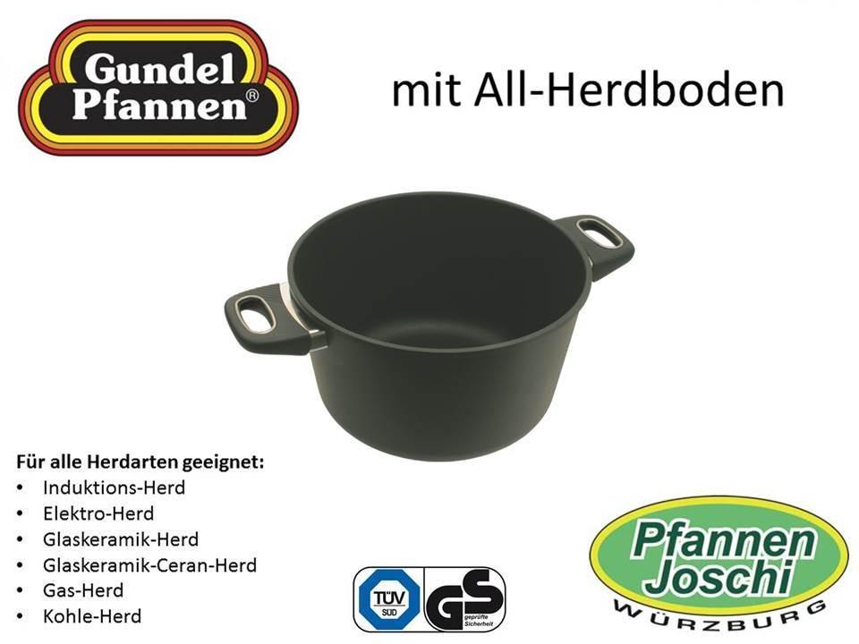 Original Gundel 26 cm Kochtopf Höhe 15,5 cm