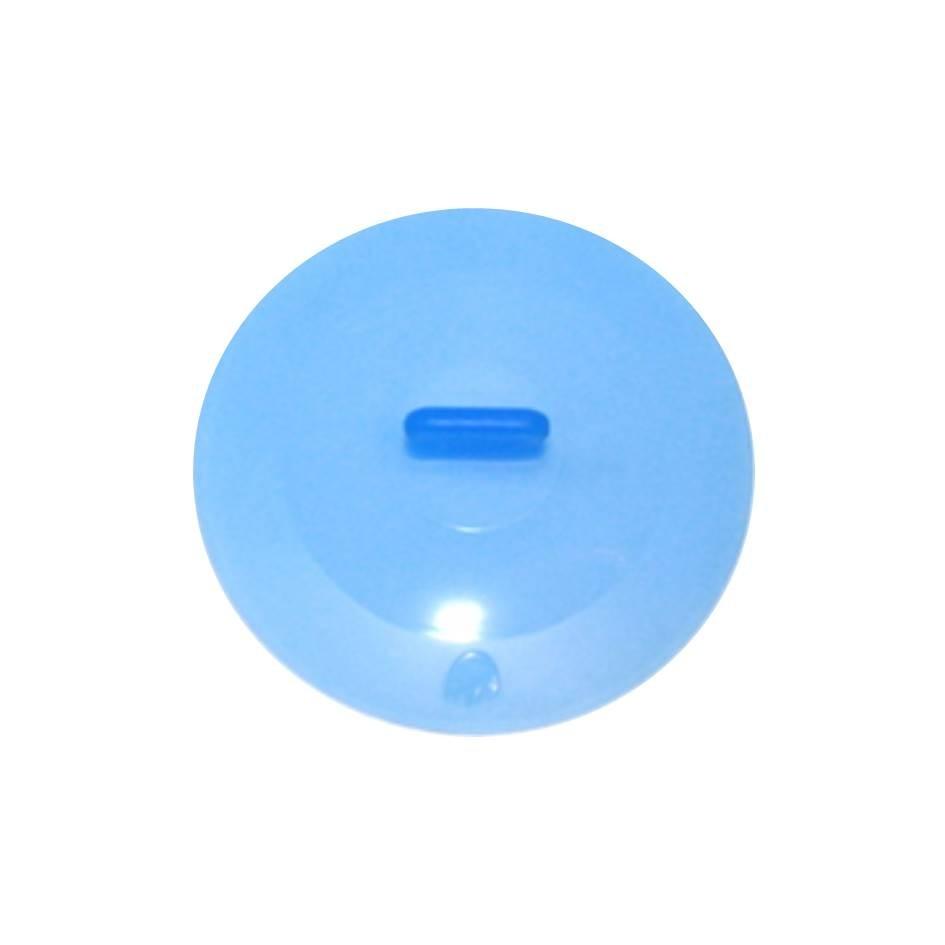 Silikon Deckel 18 cm blau