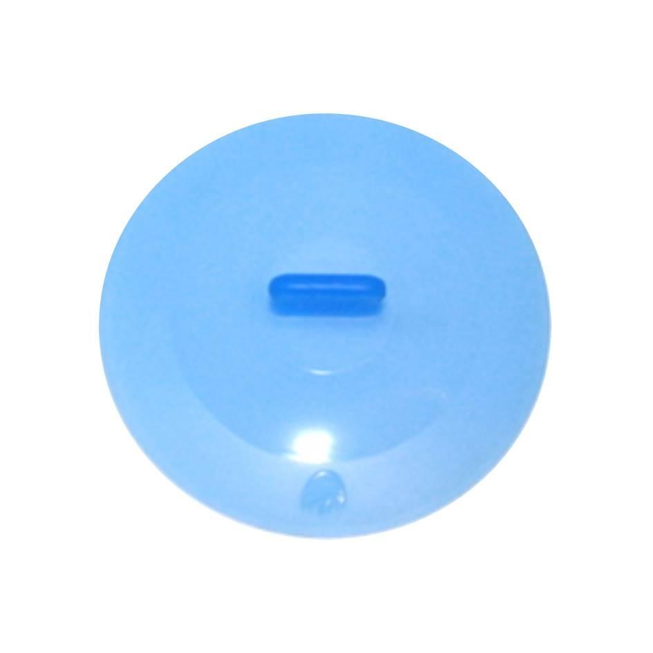 Silikon Deckel 25 cm blau
