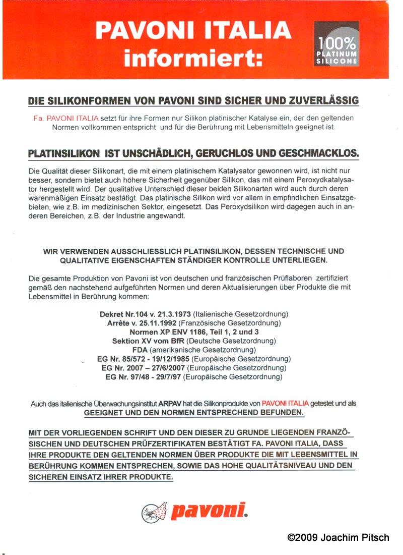 silikonbackform-zertifikat