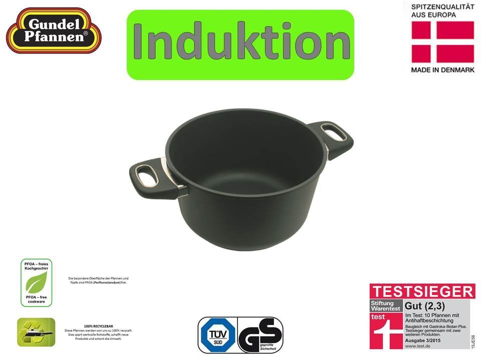 Original Gundel 24 cm Kochtopf Induktion