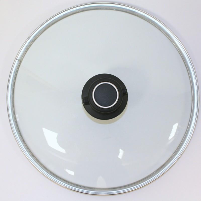 Glasdeckel rund 36 cm Durchmesser