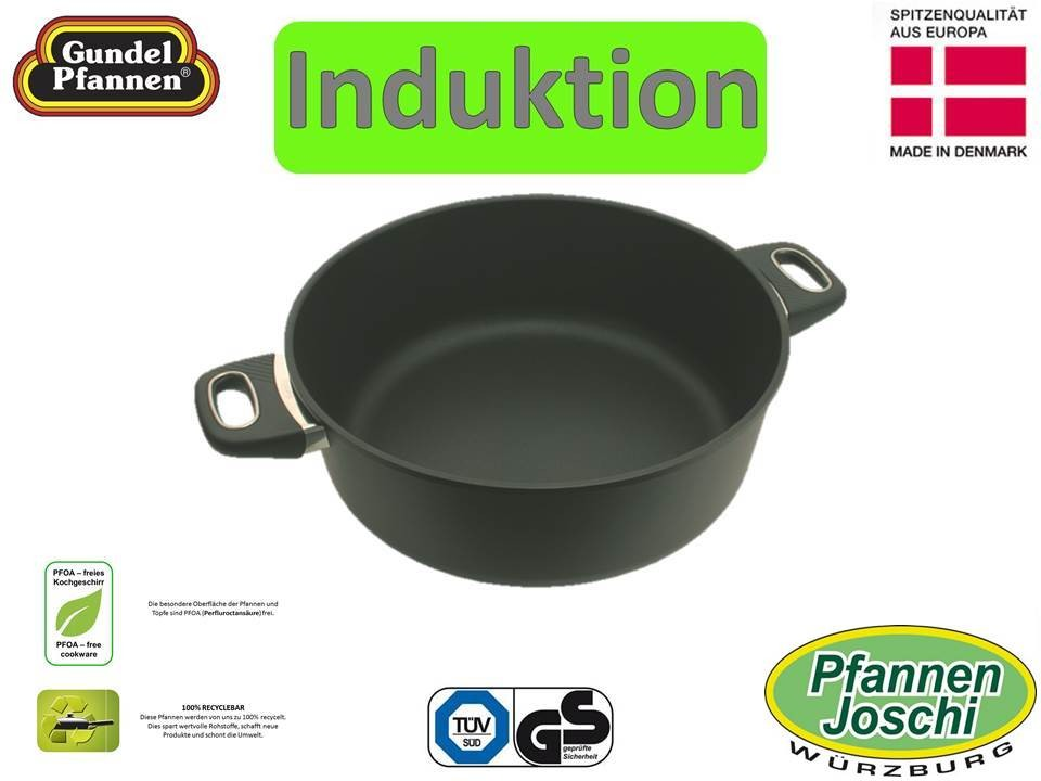Original Gundel 32 cm Bratentopf Induktion