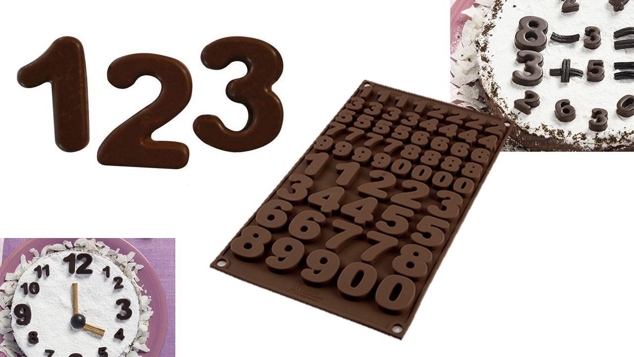 Silikonbackform Sf174 Choco 123