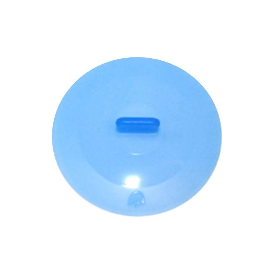 Silikon Deckel 22 cm blau
