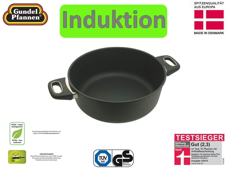 Original Gundel 28 cm Bratentopf Induktion