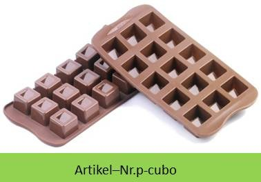 Silikon Pralinenform Cubo