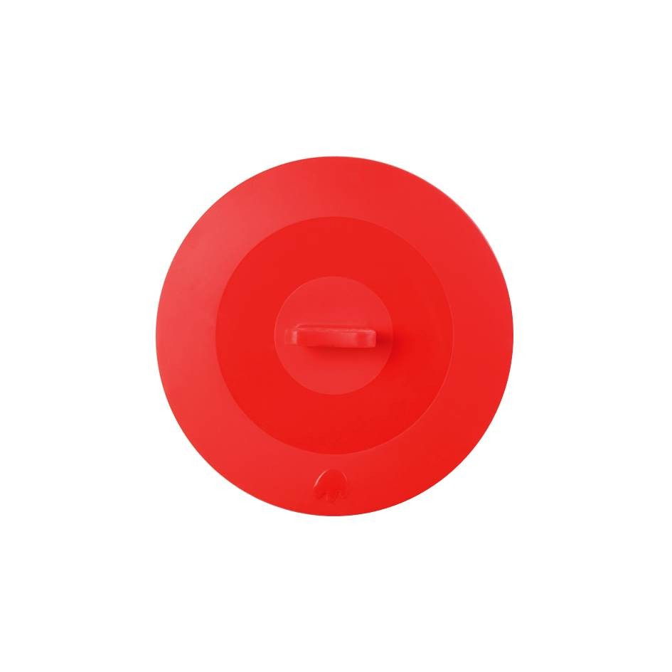 Silikon Deckel 22 cm rot