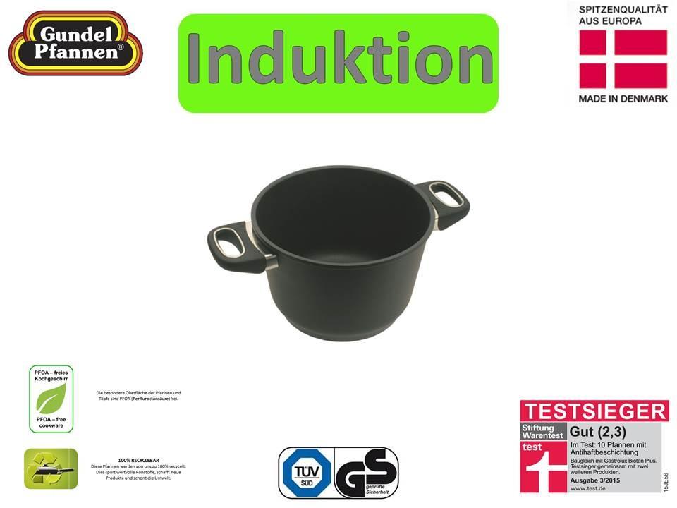 Original Gundel 20 cm Kochtopf Induktion