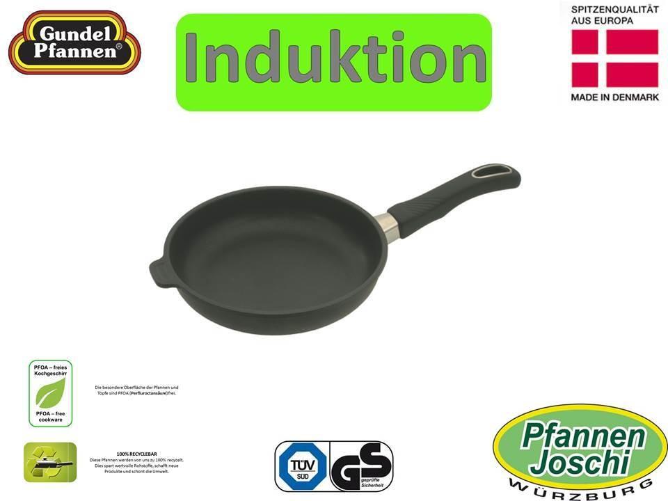 Original Gundel Pfanne 20 cm flach Induktion