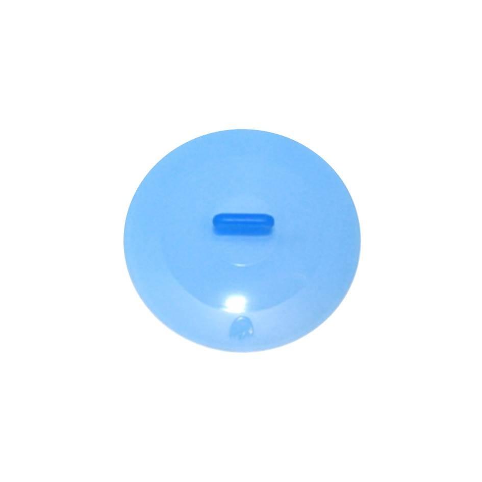 Silikon Deckel 15 cm blau