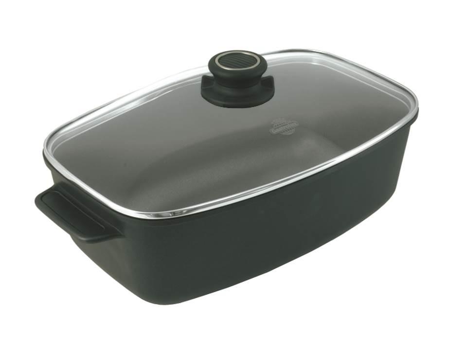 Bräter klein mit Securitglasdeckel 6,0 Liter Gastrolux
