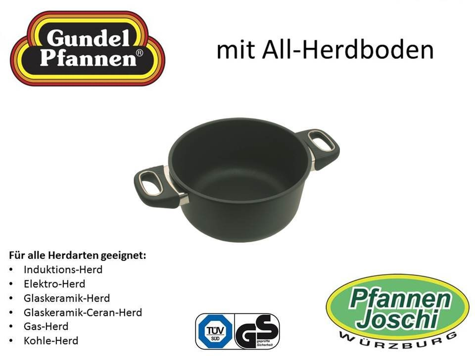 Original Gundel 20 cm Bratentopf