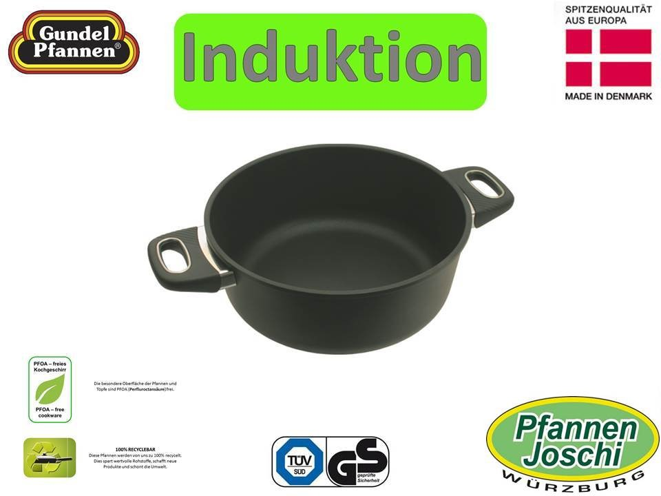 Original Gundel 26 cm Bratentopf Induktion