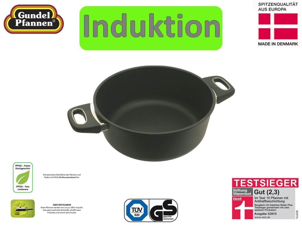 Original Gundel 26 cm Bratentopf Induktion