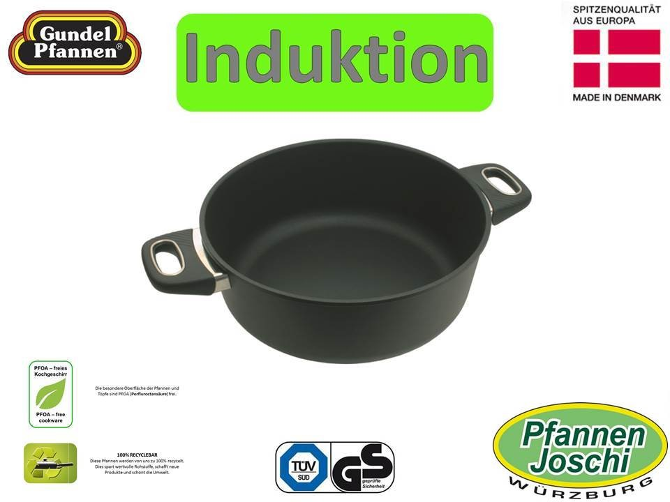 Original Gundel 28 cm Bratentopf Induktion