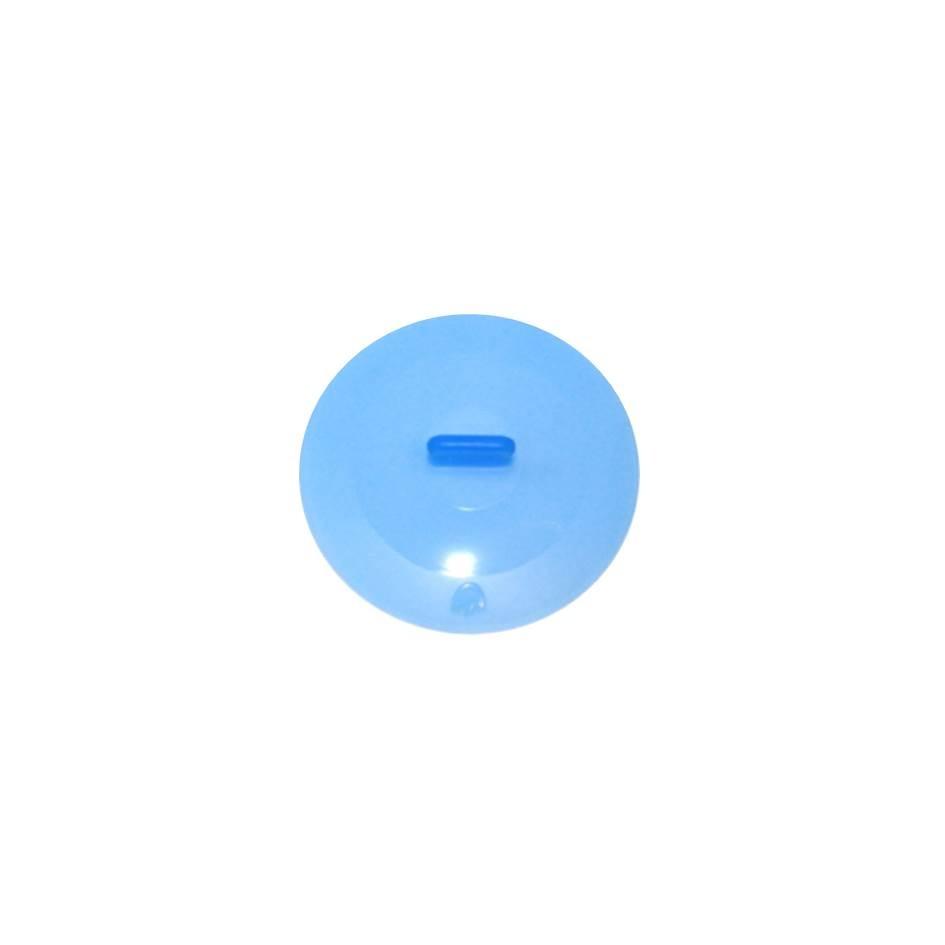 Silikon Deckel 8,5 cm blau