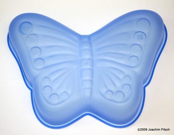 Silikonbackform Schmetterling