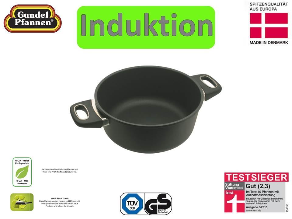 Original Gundel 24 cm Bratentopf Induktion