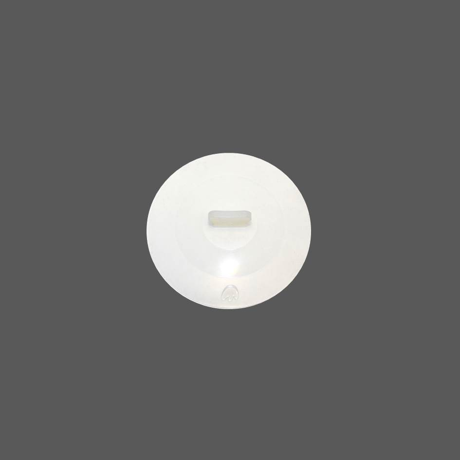 Silikon Deckel 8,5 cm weiß
