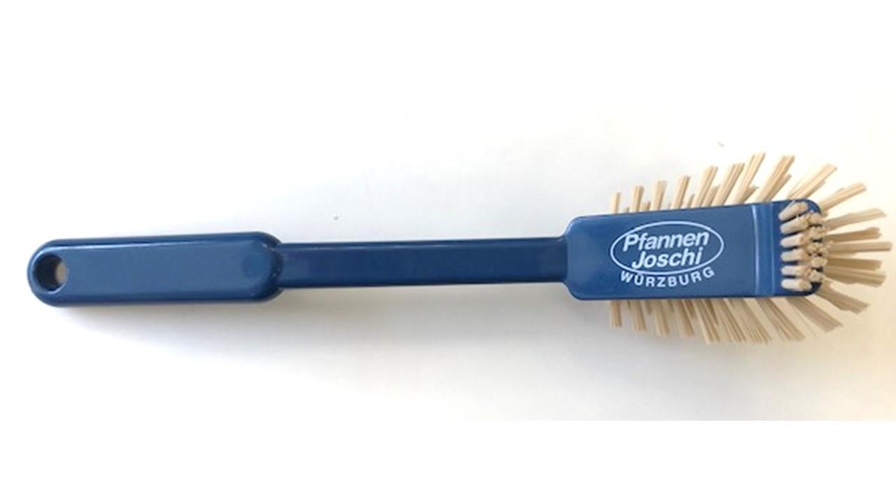 Spülbürste Pfannenbürste hitzebeständig (recycelten Kunststoff) blau