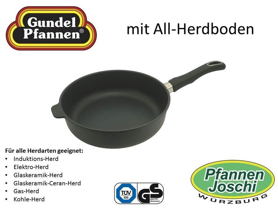 Original Gundel 26 cm Hochrandpfanne