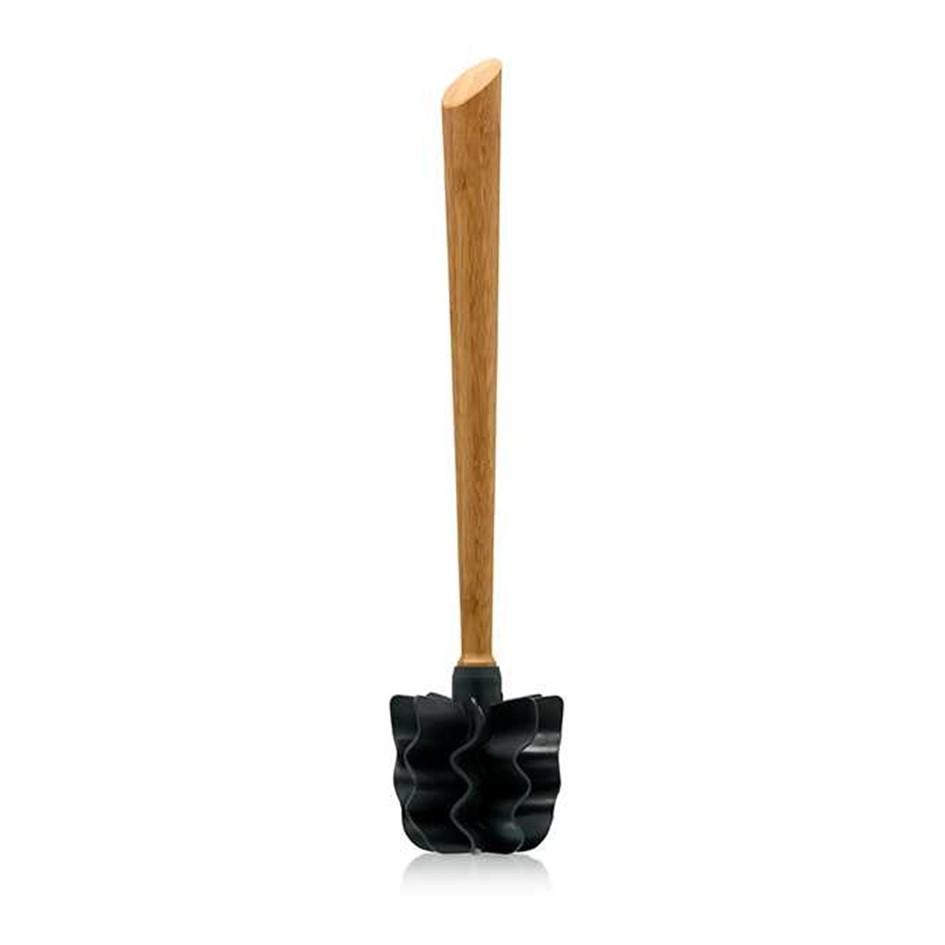 LOOWY Woodline – Bambus Single | die borstenlose Toilettenbürste mit Bambusgriff