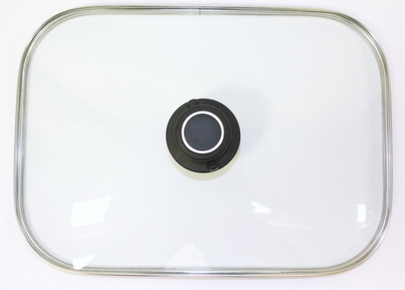 Glasdeckel für rechteckige Auflaufformen 34,1 x 24,2 cm