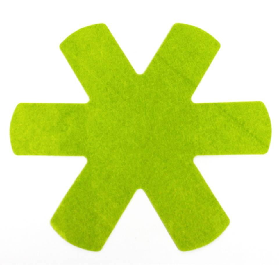 Pfannenschutzeinlagen 3er Set grün