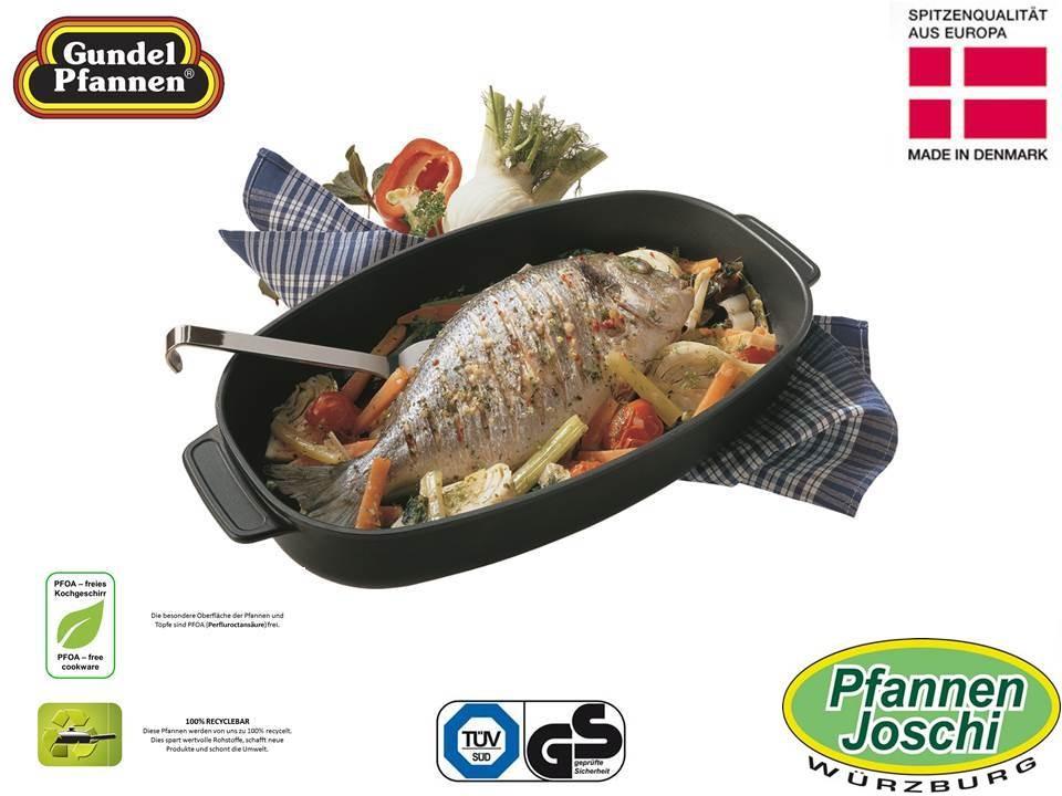Original Gundel Fisch- und Auflaufform