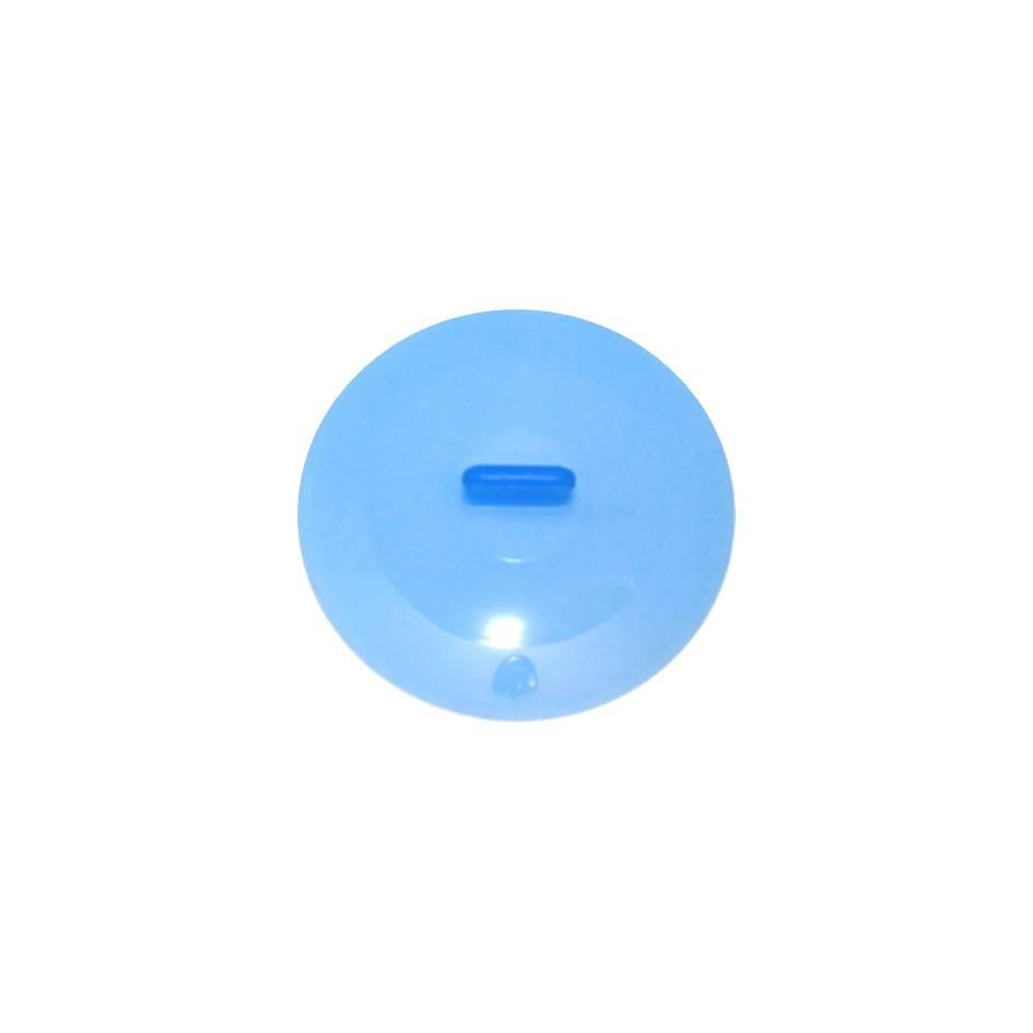 Silikon Deckel 12 cm blau