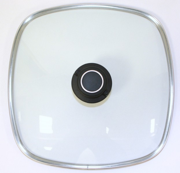 Original gundel glasdeckel eckig gr e 20 cm x 20 cm for Pfannendeckel 30 cm